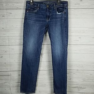 American eagle women's skinny stretch jeans